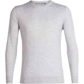 Icebreaker Shearer Crew Sweater Men, steel heather